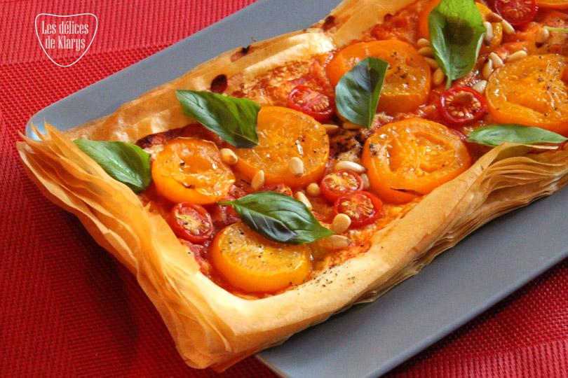 tarte-pate-filo-tomate